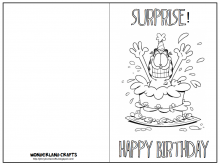 21 Free Birthday Card Template Son for Ms Word with Birthday Card Template Son