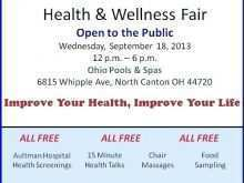 21 Free Health Fair Flyer Template Templates for Health Fair Flyer Template