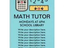 21 Free Math Tutor Flyer Template Layouts for Math Tutor Flyer Template