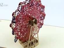Pop Up Card Ferris Wheel Template