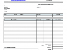 21 Free Printable Automotive Repair Invoice Template For Quickbooks With Stunning Design for Automotive Repair Invoice Template For Quickbooks