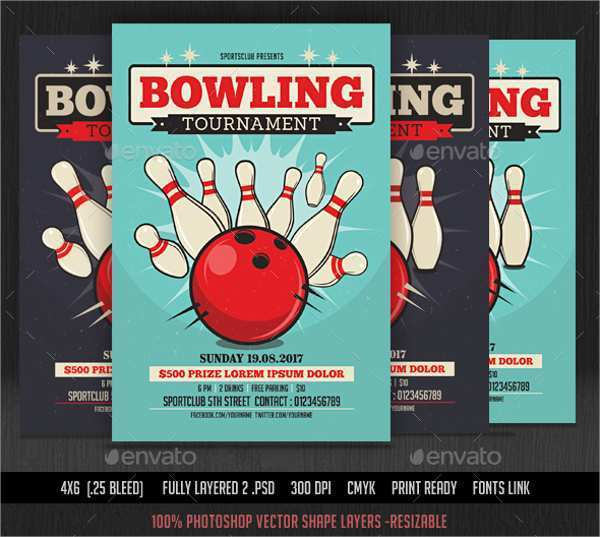 21 How To Create Bowling Flyer Template Free in Photoshop for Bowling Flyer Template Free