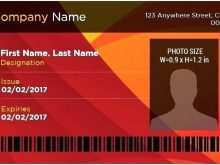 Id Card Template Pdf