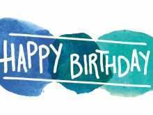 Birthday Card Templates Online