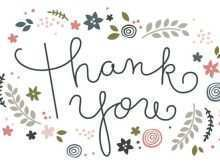 21 Online Free Thank You Card Templates To Download With Stunning Design by Free Thank You Card Templates To Download