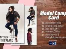 21 Printable Comp Card Template For Microsoft Word Photo for Comp Card Template For Microsoft Word