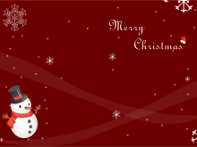 21 Printable X Mas Card Template Layouts by X Mas Card Template