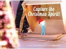 21 Report Christmas Card Template After Effect Photo for Christmas Card Template After Effect
