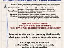 21 Report Cleaning Flyers Templates Free Layouts for Cleaning Flyers Templates Free