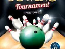 21 Standard Bowling Flyer Template Free PSD File with Bowling Flyer Template Free