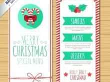 Christmas Card Template Small