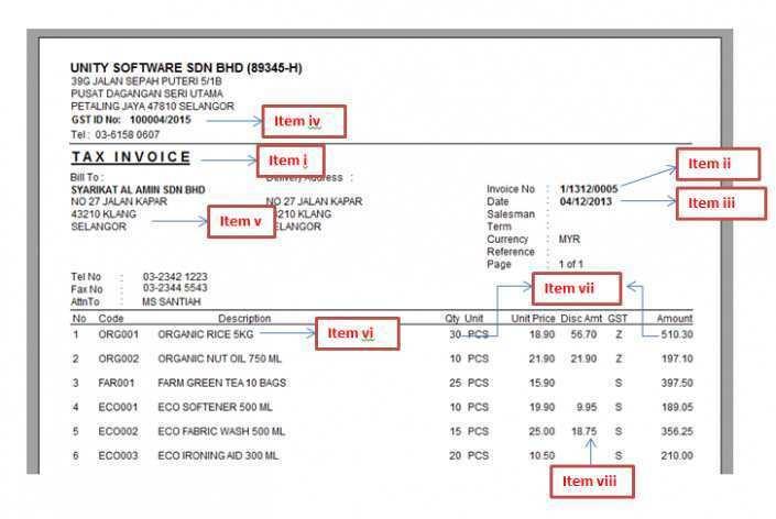21 Standard Tax Invoice Template Excel Malaysia Photo For Tax Invoice Template Excel Malaysia Cards Design Templates