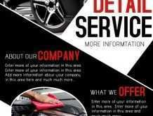 52 Free Car Detailing Flyer Template