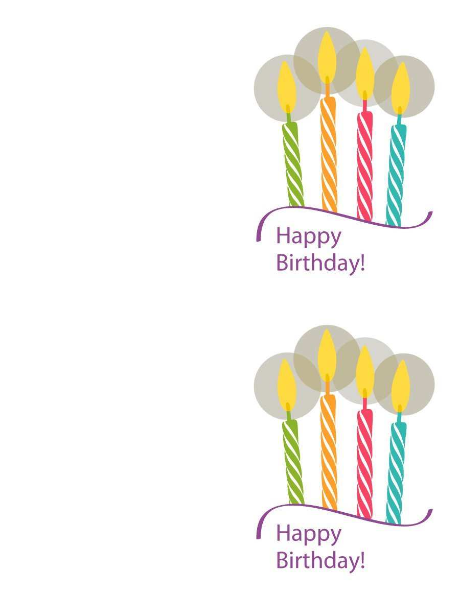 21 The Best Happy Birthday Card Template Free Download For Ms Word By Happy Birthday Card Template Free Download Cards Design Templates