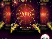 21 The Best New Year Invitation Card Templates PSD File for New Year Invitation Card Templates