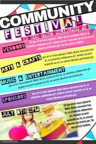 21 Visiting Community Event Flyer Template For Free for Community Event Flyer Template