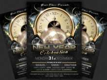 New Year Flyer Template Free