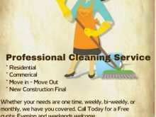 22 Best Cleaning Flyers Templates Now for Cleaning Flyers Templates