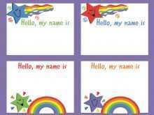 22 Blank Child Name Card Template Download by Child Name Card Template