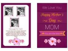 22 Blank Mothers Card Templates Online Formating for Mothers Card Templates Online