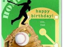 22 Creating Baseball Birthday Card Template for Ms Word with Baseball Birthday Card Template