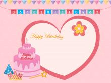 22 Creating Birthday Card Templates Printable PSD File for Birthday Card Templates Printable