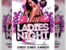 22 Creating Ladies Night Flyer Template Free for Ms Word with Ladies Night Flyer Template Free