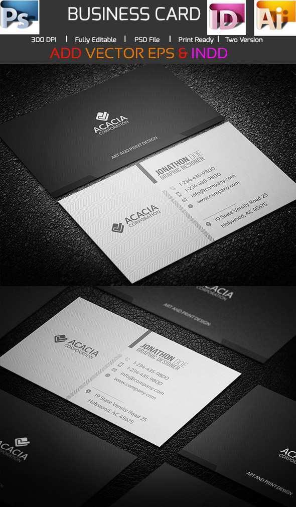 22 Creative Adobe Illustrator Business Card Template File Now by Adobe Illustrator Business Card Template File