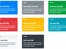 22 Creative Card Template Bootstrap PSD File by Card Template Bootstrap