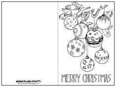 22 Creative Christmas Card Templates Coloring Now for Christmas Card Templates Coloring