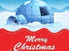 22 Customize Christmas Card Template Snow in Photoshop with Christmas Card Template Snow