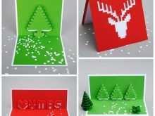 22 Customize Pop Up Card Tutorial Christmas Layouts with Pop Up Card Tutorial Christmas
