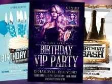 22 Format Birthday Flyer Template Psd Layouts with Birthday Flyer Template Psd