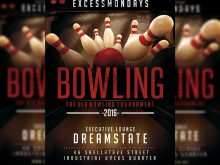 22 Free Bowling Flyer Template Free Formating for Bowling Flyer Template Free