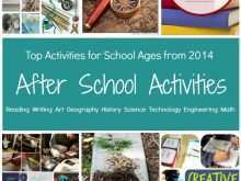 After School Care Flyer Templates