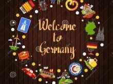 22 Free Printable German Postcard Template Download by German Postcard Template