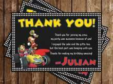 22 Online Mickey Thank You Card Template in Word by Mickey Thank You Card Template
