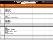 22 Printable Audit Plan Template Iso 9001 PSD File for Audit Plan Template Iso 9001