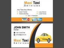 22 Printable Business Card Template Taxi Formating with Business Card Template Taxi