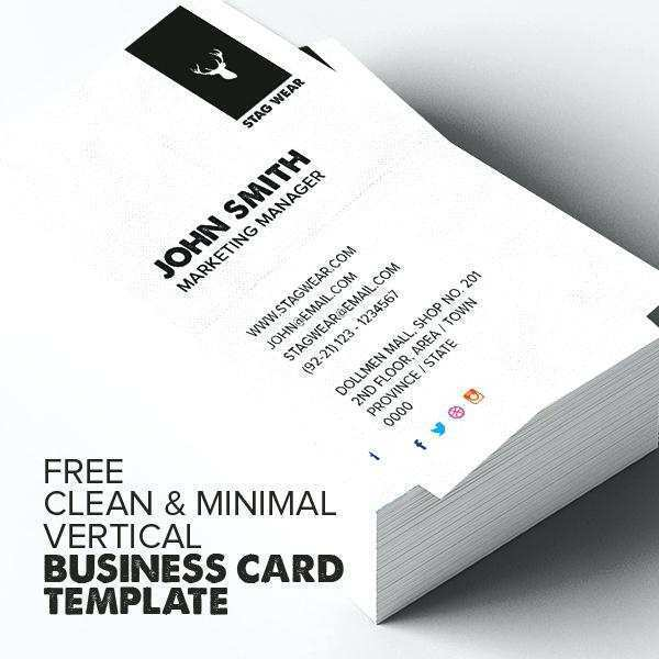 22 Standard Blank Vertical Business Card Template Word Formating with Blank Vertical Business Card Template Word