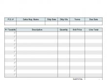 22 Standard Company Invoice Template Pdf in Photoshop for Company Invoice Template Pdf