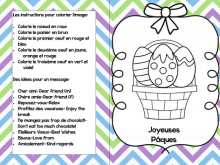 22 Standard Easter Card Template Pdf Layouts by Easter Card Template Pdf