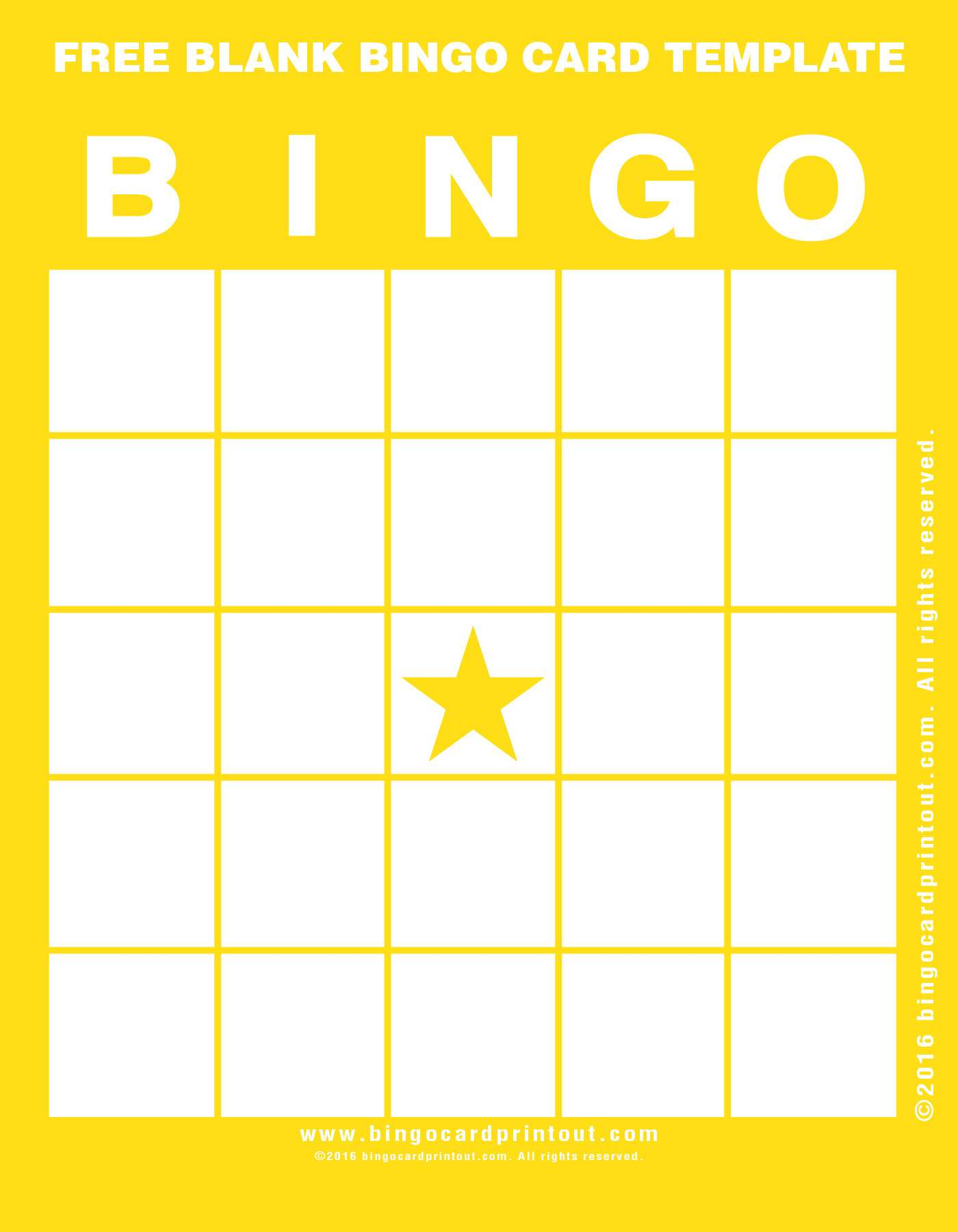 21 The Best Bingo Card Template Word Document in Photoshop with Throughout Bingo Card Template Word