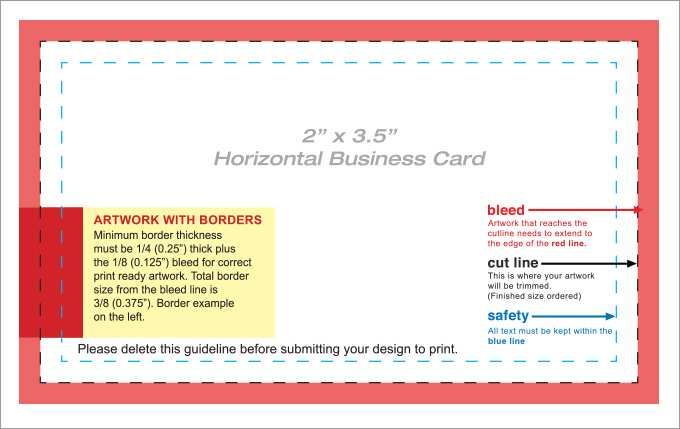 22 The Best Business Card Print Template Pdf Now by Business Card Print Template Pdf