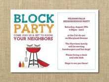 22 Visiting Block Party Template Flyer Now with Block Party Template Flyer