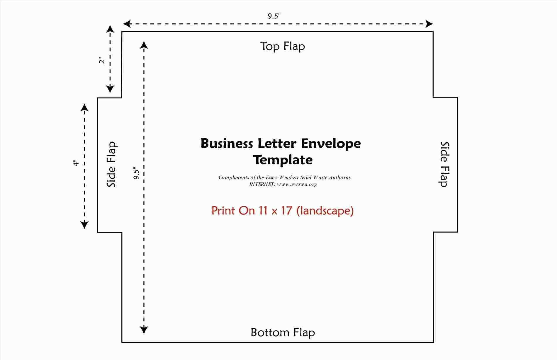 23 Best Business Card Size Envelope Template for Ms Word by Business Card Size Envelope Template