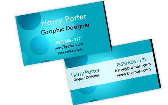 23 Best Business Card Template Hp For Free for Business Card Template Hp