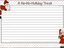 23 Best Christmas Recipe Card Template For Word Maker with Christmas Recipe Card Template For Word