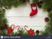 23 Blank Christmas Card Template Border PSD File for Christmas Card Template Border