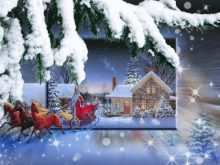 23 Create Animated Christmas Card Template Free Formating with Animated Christmas Card Template Free